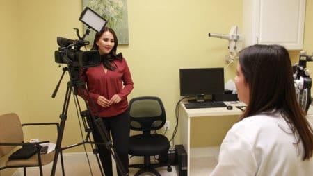 Telemundo interviews Dr. Giovana Balasquide