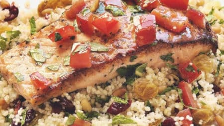 Lemon-Pepper Salmon Healthy Eye Recipe