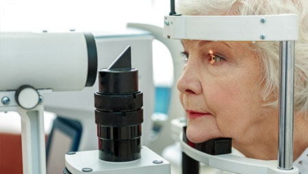 Online vision tests don't replace an eye doctor!